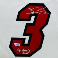 "Dwyane Wade Signed Heat Jersey Inscribed ""06 Finals MVP"" (Fanatics Hologram) at PristineAuction.com"