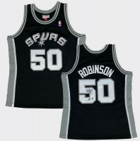 "David Robinson Signed Spurs Jersey Inscribed ""HOF 09"" (Fanatics Hologram) at PristineAuction.com"