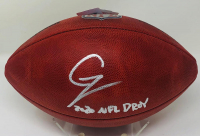 """Chase Young Signed """"The Duke"""" Official NFL Game Ball Inscribed """"2020 NFL DPOY"""" (Fanatics Hologram) at PristineAuction.com"""