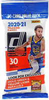 2020-21 Panini Donruss Basketball Cello Pack with (30) Cards at PristineAuction.com