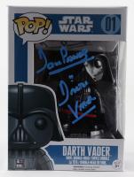 "David Prowse Signed ""Star Wars"" #01 Darth Vader Funko Pop! Vinyl Figure Inscribed ""Darth Vader"" (PSA COA) at PristineAuction.com"