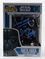 "David Prowse Signed ""Star Wars"" #01 Darth Vader Funko Pop! Vinyl Figure Inscribed ""Darth Vader"" (PSA COA) (See Description) at PristineAuction.com"