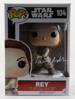 "Daisy Ridley Signed ""Star Wars"" #104 Rey Funko Pop! Vinyl Figure (PSA COA) at PristineAuction.com"
