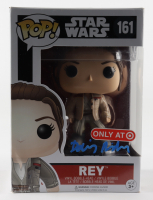 "Daisy Ridley Signed ""Star Wars"" #161 Rey Funko Pop! Vinyl Figure (Beckett COA) (See Description) at PristineAuction.com"