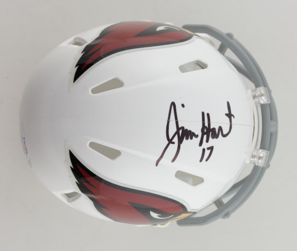 Jim Hart Signed Cardinals Speed Mini Helmet (PSA COA) at PristineAuction.com