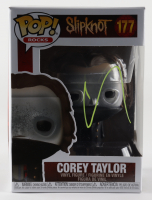 "Corey Taylor Signed ""Slipknot"" #177 Funko Pop! Vinyl Figure (Beckett COA) (See Description) at PristineAuction.com"
