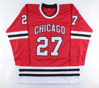 """Jeremy Roenick Signed Jersey Inscribed """"9x All-Star"""" (Beckett COA) (See Description) at PristineAuction.com"""