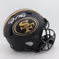 Joe Montana Signed 49ers Eclipse Alternate Full-Size Speed Helmet (Beckett COA) at PristineAuction.com