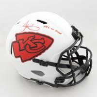"Tyreek Hill Signed Chiefs Full-Size Lunar Eclipse Alternate Speed Helmet Inscribed ""SB LV Champs"" (JSA COA) (See Description) at PristineAuction.com"