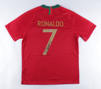 Cristiano Ronaldo Signed Team Portugal Jersey (Beckett COA) at PristineAuction.com
