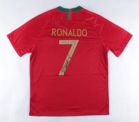 Cristiano Ronaldo Signed Team Portugal Jersey (Beckett COA) at PristineAuction.com