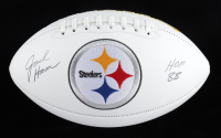 "Jack Ham Signed Steelers Logo Football Inscribed ""HOF 88"" (Beckett COA) at PristineAuction.com"