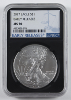 2017 American Silver Eagle $1 One Dollar Coin - Early Releases (NGC MS69) at PristineAuction.com