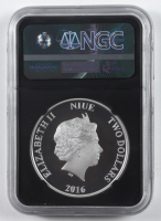 2016 Star Wars Classic R2-D2 $2 Two Dollar Silver Coin - Early Releases (NGC PF70 Ultra Cameo) at PristineAuction.com