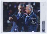 "Joe Biden Signed 8x10 Photo Inscribed ""Thanks"" (BGS Encapsulated) at PristineAuction.com"