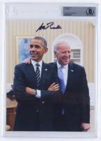 Joe Biden Signed 8x10 Photo (BGS Encapsulated) at PristineAuction.com