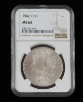 1902-O Morgan Silver Dollar (NGC MS63) at PristineAuction.com