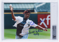 "Juice Wrld Signed 8x10 Photo Inscribed ""Go Sox!"" & ""999"" (BGS Encapsulated) at PristineAuction.com"