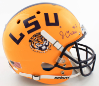 Ja'Marr Chase Signed LSU Tigers Full-Size Helmet (JSA COA) at PristineAuction.com