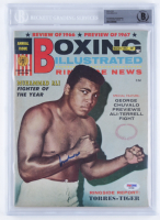 Muhammad Ali Signed Boxing Illustrated Magazine (BGS Encapsulated & PSA COA) at PristineAuction.com