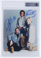 Pete Townshend, Roger Daltrey & John Entwistle Signed 8x10 Photo (BGS Encapsulated) at PristineAuction.com