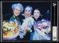 Andrew Lloyd Weber & Michael Crawford Signed 8x10 Photo (BGS Encapsulated) at PristineAuction.com