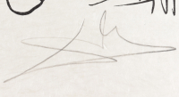 "Salvador Dali Signed LE ""Pantagruel's Comical Dreams"" Dali's Mind Les Songes Drolatiques de Pantagruel 21x29 Japon Paper Print (PA LOA) at PristineAuction.com"