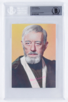 "Alec Guinness Signed ""Star Wars"" 4x6 Postcard (BGS Encapsulated) at PristineAuction.com"