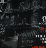 David Prowse & James Earl Jones Signed 2005 Rolling Stone Magazine (Beckett COA) at PristineAuction.com