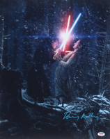 """Daisy Ridley Signed """"Star Wars: The Force Awakens"""" 16x20 Photo (PSA COA) at PristineAuction.com"""