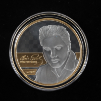 Elvis Presley Commemorative 1oz Silver Coin at PristineAuction.com