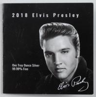 Elvis Presley Commemorative 1oz Silver Coin at PristineAuction.com