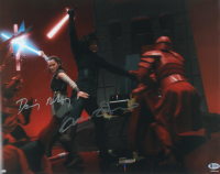 "Daisy Ridley & Adam Driver Signed ""Star Wars: The Last Jedi"" 16x20 Photo (Beckett COA) at PristineAuction.com"