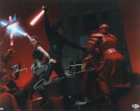 "Daisy Ridley & Adam Driver Signed ""Star Wars: The Last Jedi"" 16x20 Photo (Beckett COA) at PristineAuction.com"
