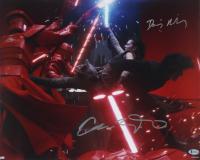 "Daisy Ridley & Adam Driver Signed ""Star Wars: The Last Jedi"" 16x20 Photo (Beckett COA) (See Description) at PristineAuction.com"