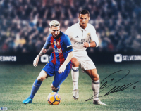 Cristiano Ronaldo Signed Real Madrid CF 16x20 Photo (Beckett COA) at PristineAuction.com