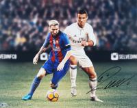 Cristiano Ronaldo Signed Real Madrid 16x20 Photo (Beckett COA) at PristineAuction.com
