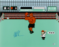 "Mike Tyson Signed ""Punch-Out!!!"" 16x20 Photo (Beckett COA) at PristineAuction.com"