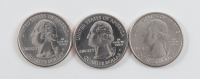 Set of (3) San Francisco, Denver, & Philadelphia Mint 2018 Apostle Island Quarters at PristineAuction.com