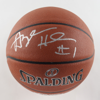 Anfernee Hardaway Signed Basketball (JSA COA) at PristineAuction.com