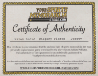 Milan Lucic Signed Jersey (YSMS COA) (See Description) at PristineAuction.com