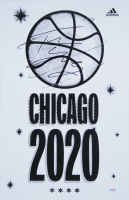 Trae Young Signed Chicago 2020 11x17 Poster (PSA COA) at PristineAuction.com