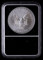 2021 American Silver Eagle $1 One Dollar Coin - Heraldic Eagle, Eagle Core Holder (NGC MS69) at PristineAuction.com