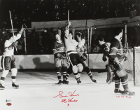 """Gordie Howe LE Signed Red Wings 16x20 Photo Inscribed """"Mr Hockey"""" (Beckett COA) at PristineAuction.com"""