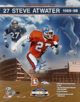 Steve Atwater Signed LE Broncos 16x20 Photo (Beckett COA) at PristineAuction.com
