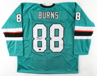 Brent Burns Signed Jersey (Burns COA) (See Description) at PristineAuction.com