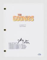 "Jeff Cohen Signed ""The Goonies"" Movie Script (AutographCOA COA) at PristineAuction.com"