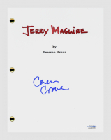 "Cameron Crowe Signed ""Jerry Maguire"" Movie Script (AutographCOA COA) at PristineAuction.com"