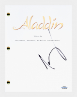 "Scott Weinger Signed ""Aladdin"" Movie Script (AutographCOA COA) at PristineAuction.com"