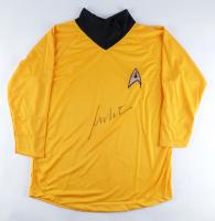 William Shatner Signed Prop Replica Uniform Shirt (JSA COA) at PristineAuction.com
